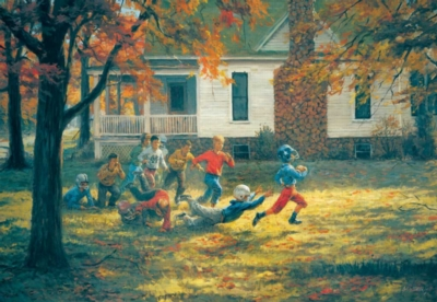 Fall Football - 500pc Jigsaw Puzzle by Sunsout