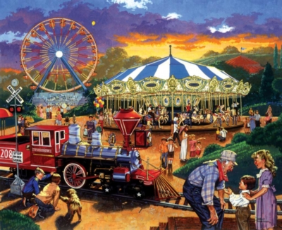 Jigsaw Puzzle - Carnival