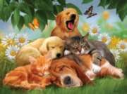 Sleepy Heads - 1000pc Jigsaw Puzzle by Sunsout