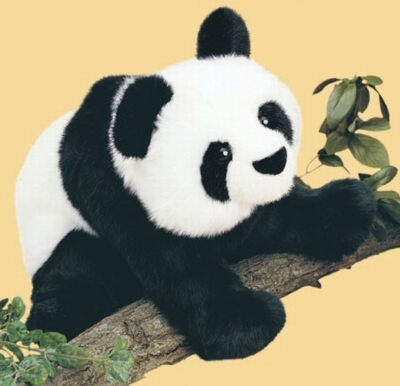 Mai-Ling Floppy - 15'' Panda By Douglas Cuddle Toys