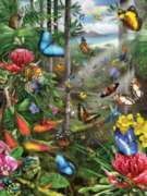 Jigsaw Puzzles - Butterfly Tropics