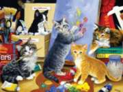 Studio Kittens - 1000pc Jigsaw Puzzle by Sunsout