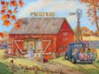 The Quilt Barn - 500pc Jigsaw Puzzle by Sunsout