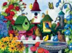 Birdhouse Heaven - 1000pc Jigsaw Puzzle by Sunsout
