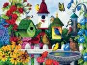 Jigsaw Puzzles - Birdhouse Heaven