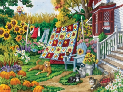 Country Autumn - 500pc Jigsaw Puzzle by Sunsout