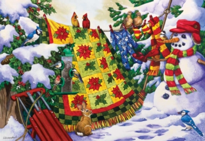 Winter Companions - 500pc Jigsaw Puzzle by Sunsout