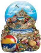 Sand Castle - 1000pc Shaped Jigsaw Puzzle by Sunsout