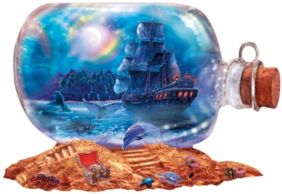 Run Aground - 1000pc Shaped Jigsaw Puzzle by Sunsout