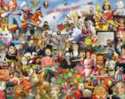Crazy Toys - 1000pc Jigsaw Puzzle by White Mountain