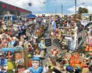 Flea Market - 1000pc Jigsaw Puzzle by White Mountain