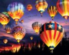 Balloons Aglow - 1000pc Jigsaw Puzzle by White Mountain