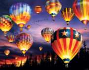 Jigsaw Puzzles - Balloons Aglow