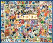 Sports Legends - 1000pc Jigsaw Puzzle by White Mountain