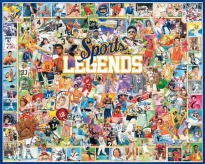 Jigsaw Puzzles - Sports Legends
