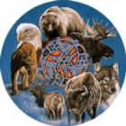Spirit Of The Animals - 300pc Large Format Jigsaw Puzzle by Serendipity