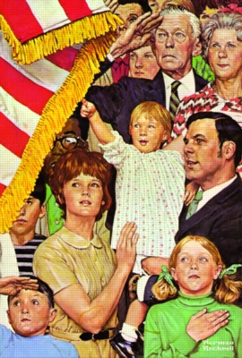 Serendipity Jigsaw Puzzles - Norman Rockwell: Salute The Flag