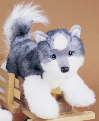"Joli Husky - 12"" Dog by Douglas Cuddle Toys"