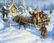Way Up North - 1000pc Jigsaw Puzzle by White Mountain