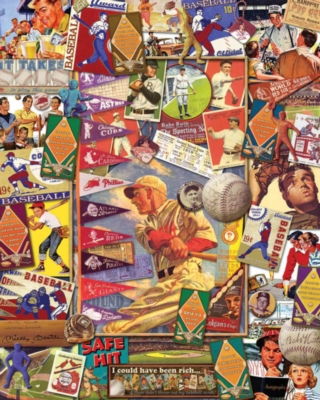 Batter Up - 1000pc Jigsaw Puzzle by White Mountain