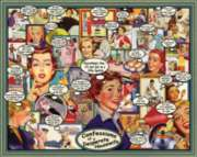 Confessions of a Desperate Housewife - 1000pc Jigsaw Puzzle by White Mountain