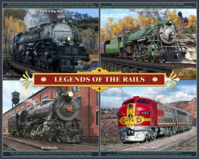 Hard Jigsaw Puzzles - Legends of the Rails