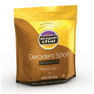 Oregon Chai Mix: Decadent Spiced - 3 lb Bulk Bag