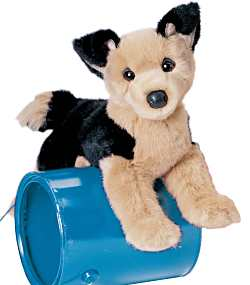 Saba German Shepherd - 12'' Dog by Douglas Cuddle Toys