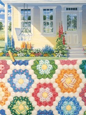 Grandmother's Flower Garden - 1000pc Jigsaw Puzzle By Sunsout