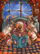 Reindeer Flight School - 300pc Large Format Jigsaw Puzzle by Sunsout