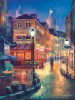 Night Stroll - 300pc Large Format Jigsaw Puzzle by Sunsout