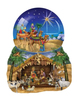 Shaped Jigsaw Puzzles - O Star of Bethlehem