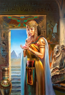 Egyptian Princess - 1000pc Jigsaw Puzzle by Castorland