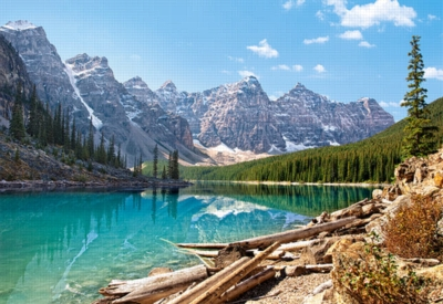 Moraine Lake, Banff National Park, Canada - 1500pc Jigsaw Puzzle by Castorland