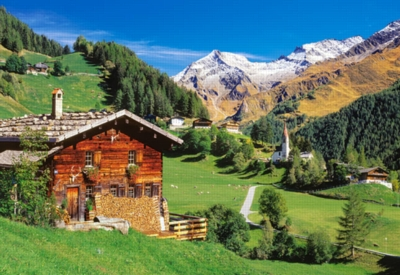 Ahrntal, South Tyrol, Italy - 1500pc Jigsaw Puzzle by Castorland