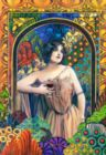 Medtrina - Wine Goddess - 1500pc Jigsaw Puzzle by Castorland