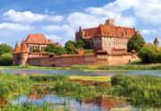 Malbork Castle, Poland - 3000pc Jigsaw Puzzle By Castorland