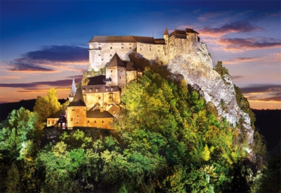 Jigsaw Puzzles - Orava Castle, Slovakia