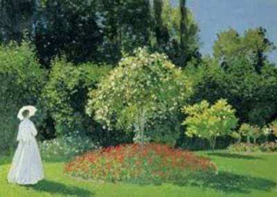 Claude Monet: Dame Dans Jardins - 1500pc Jigsaw Puzzle by Ricordi