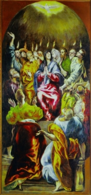 El Greco: The Pentecost - 1000pc Jigsaw Puzzle by Ricordi
