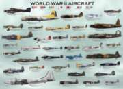 WWII Aircraft - 1000pc Jigsaw Puzzle by Eurographics