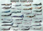 Modern Warplanes - 1000pc Jigsaw Puzzle by Eurographics