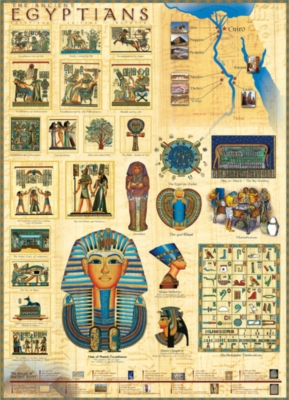 Ancient Egyptians - 1000pc Jigsaw Puzzle by Eurographics