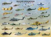 Military Helicopters - 1000pc Jigsaw Puzzle by Eurographics