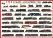 Steam Locomotives - 1000pc Jigsaw Puzzle by Eurographics