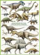 Eurographics Jigsaw Puzzles - Dinosaurs Cretaceous