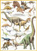 Dinosaurs Jurassic - 1000pc Jigsaw Puzzle by Eurographics