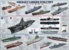 Aircraft Carrier Evolution - 1000pc Educational Jigsaw Puzzle by Eurographics