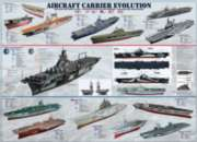 Educational Puzzles - Aircraft Carrier Evolution