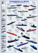Submarines & U-Boats - 1000pc Jigsaw Puzzle by Eurographics